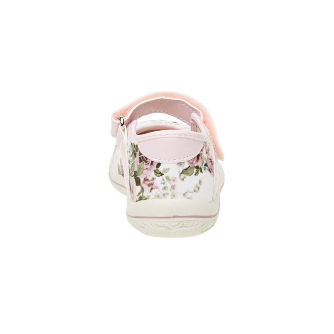 Dívčí boty s potiskem růží primigi, růžová, bílá, 129-0138 - 17
