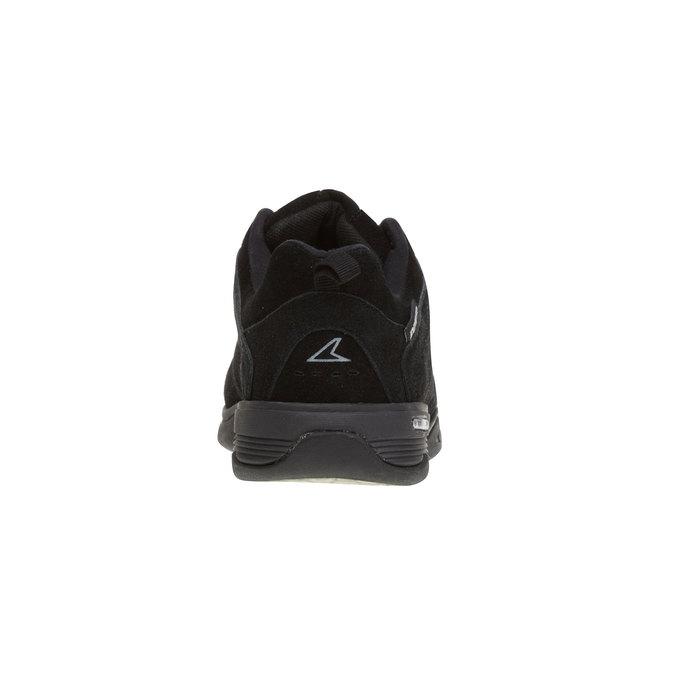 Kožené sportovní tenisky power, černá, 503-6300 - 17