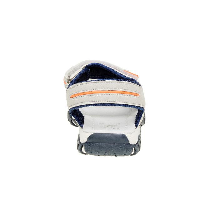 Dětské sandály mini-b, šedá, 361-2181 - 17