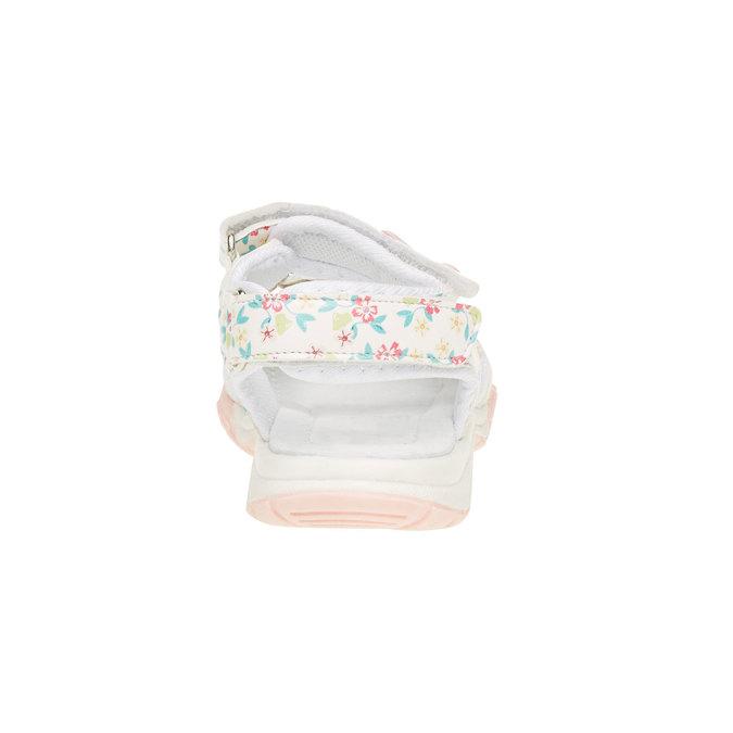 Dětské sandály mini-b, bílá, 261-1165 - 17