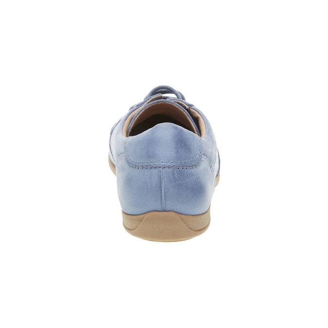 Ležérní kožené tenisky bata, modrá, 524-9511 - 17
