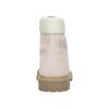 Dětská kožená obuv na výrazné podešvi weinbrenner-junior, růžová, 396-5182 - 17