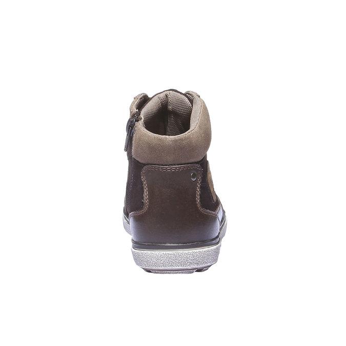 Kids shoes mini-b, hnědá, 313-4178 - 17