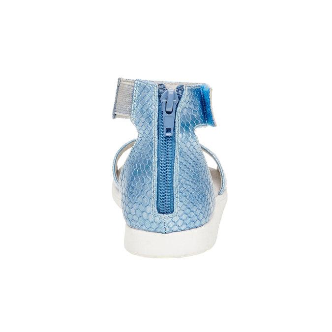 Sandály s páskem kolem kotníku bull-boxer, modrá, 421-9002 - 17