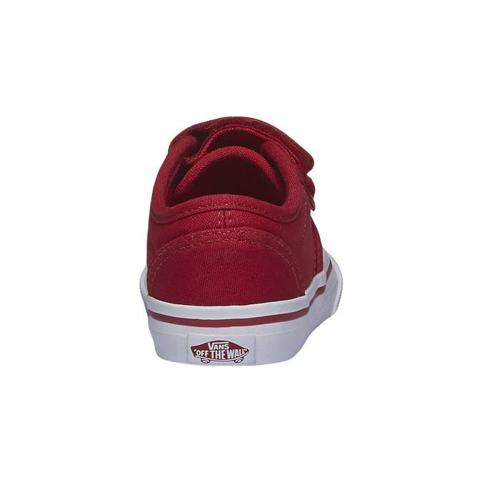 Dětské tenisky na suchý zip vans, červená, 189-5160 - 17