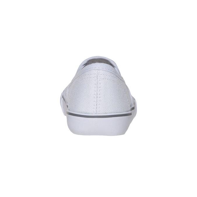 Dívčí Slip on boty s kamínky mini-b, bílá, 229-1148 - 17