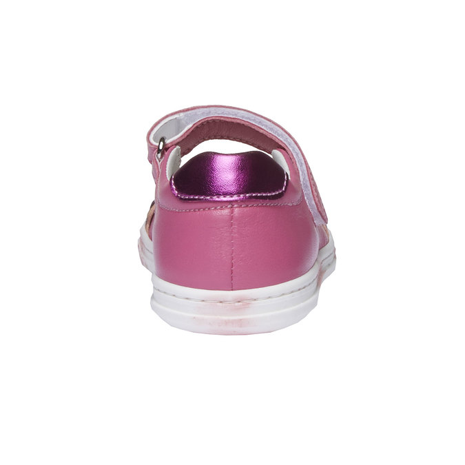 Dívčí střevíčky s mašličkou mini-b, červená, 224-5165 - 17