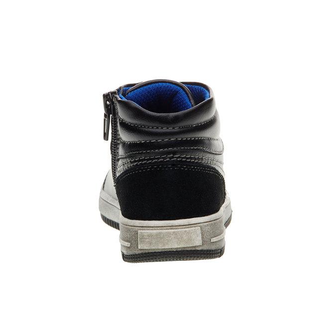 Dětské kotníčkové tenisky mini-b, černá, 211-6133 - 17