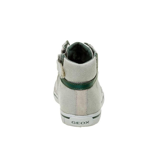 Dětské kotníčkové tenisky geox, šedá, 319-2101 - 17