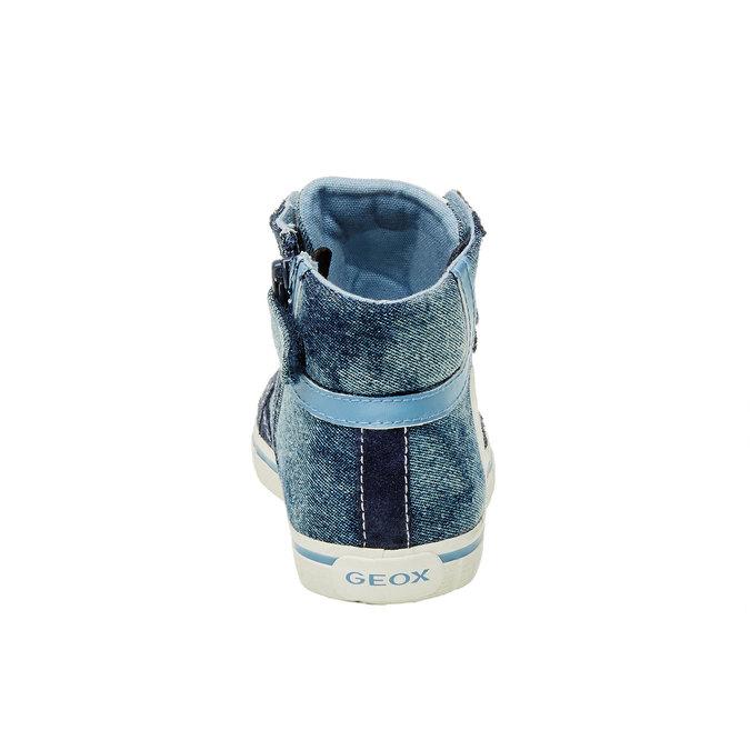 Dětské kotníčkové tenisky geox, modrá, 319-9104 - 17