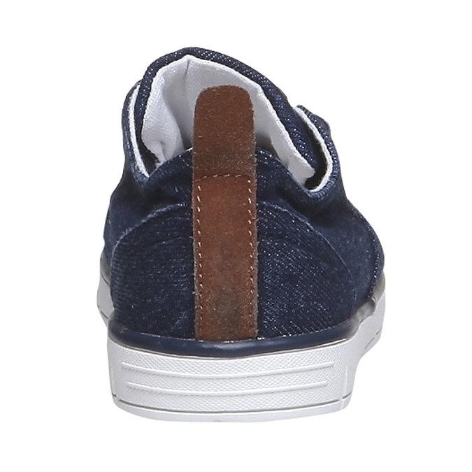 Dětské ležérní tenisky mini-b, modrá, 319-9200 - 17
