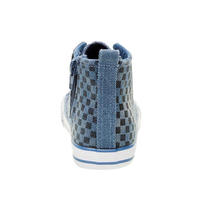 Dětské kotníčkové tenisky mini-b, modrá, 319-9211 - 17