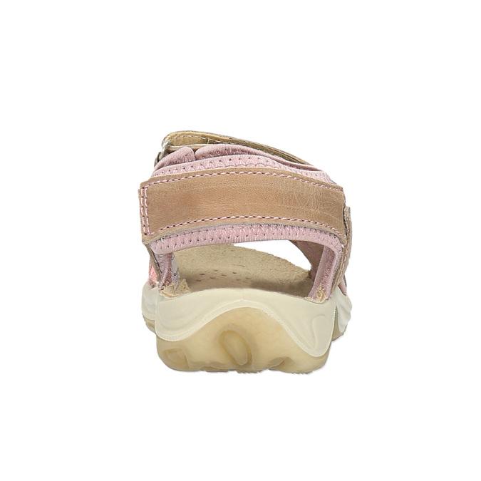 Dětské kožené sandály weinbrenner-junior, hnědá, 366-3170 - 17