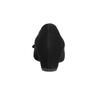 Kožené lodičky na klínovém podpatku gabor, černá, 723-6110 - 17