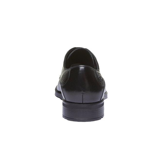 Kožené pánské polobotky conhpol, černá, 824-6151 - 17