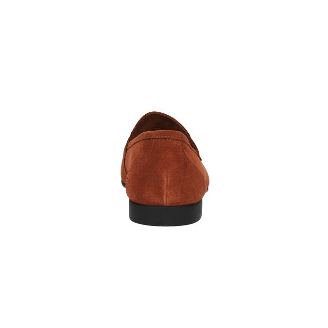Pánské kožené mokasíny flexible, červená, 853-5186 - 17