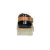 Kožené dámské polobotky na průhledné podešvi weinbrenner, černá, 598-6603 - 17