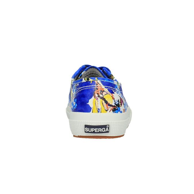 Barevné dámské tenisky superga, modrá, 589-9319 - 17