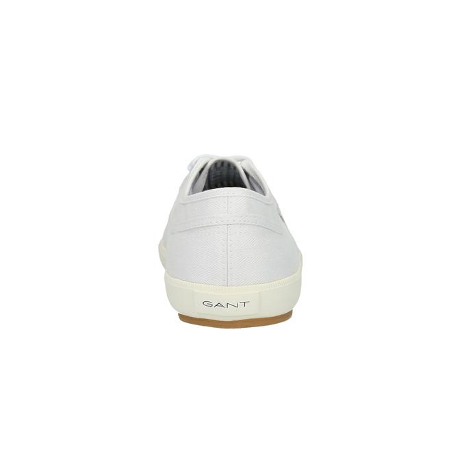 Pánské ležérní tenisky gant, bílá, 849-1020 - 17