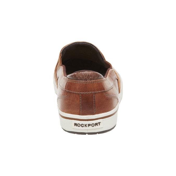 Kožené Plim Soll boty rockport, hnědá, 814-3103 - 17