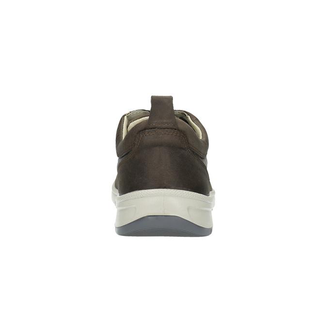 Pánské kožené tenisky, hnědá, 843-4632 - 17
