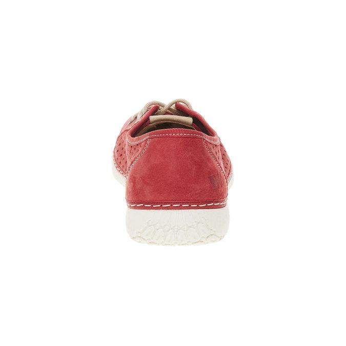 Kožené tenisky weinbrenner, červená, 546-5238 - 17