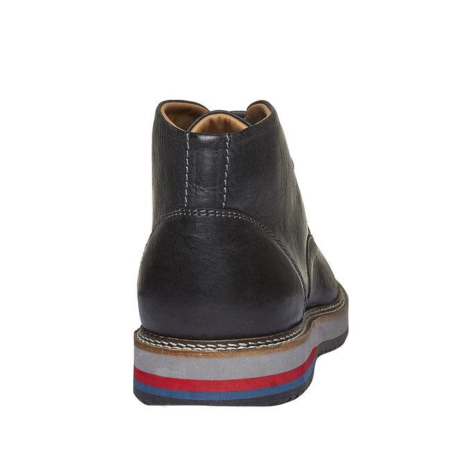 Kožené boty ve stylu Desert Boots bata, černá, 894-6114 - 17