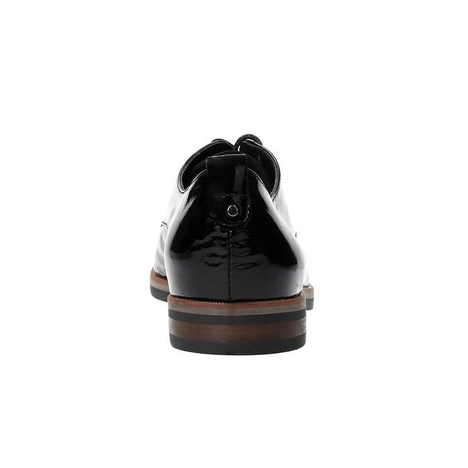 Dámské Derby polobotky bata, černá, 528-6600 - 17