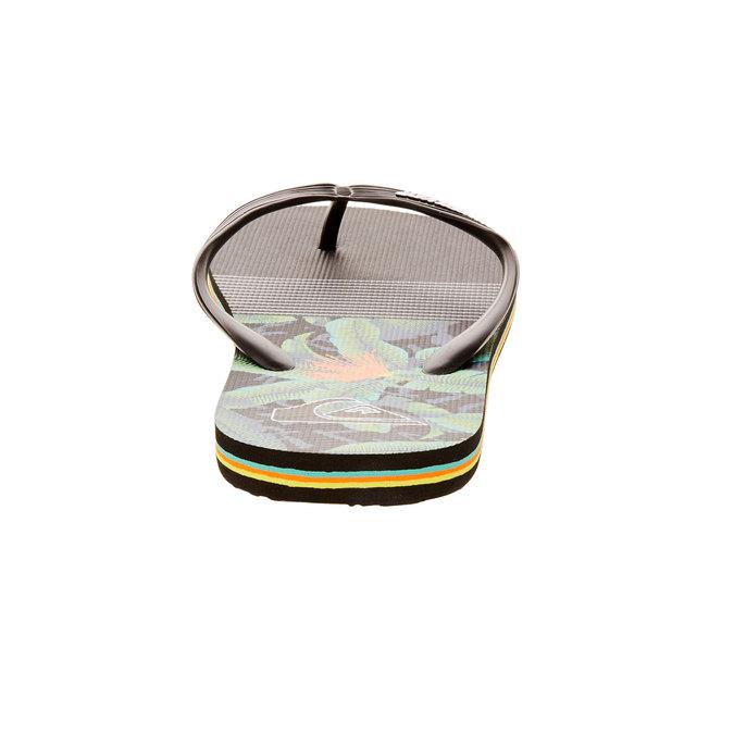 Pánské žabky quiksilver, černá, 871-6009 - 17