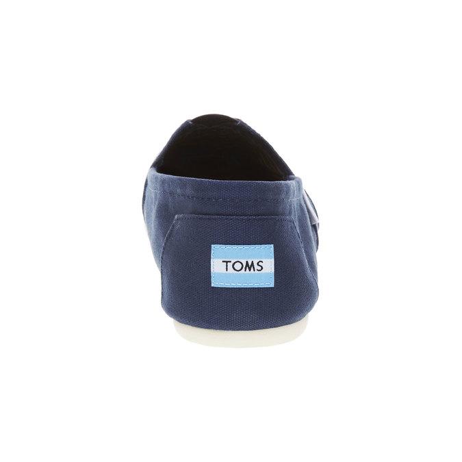 Pánské Slip on toms, modrá, 819-9004 - 17