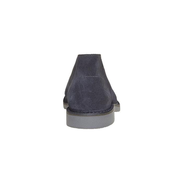 Kotníčková obuv ve stylu Chukka bata, šedá, 893-9275 - 17