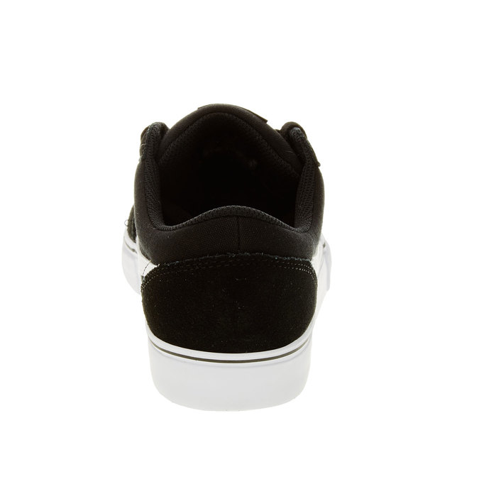 Pánské kožené tenisky nike, černá, 803-6134 - 17