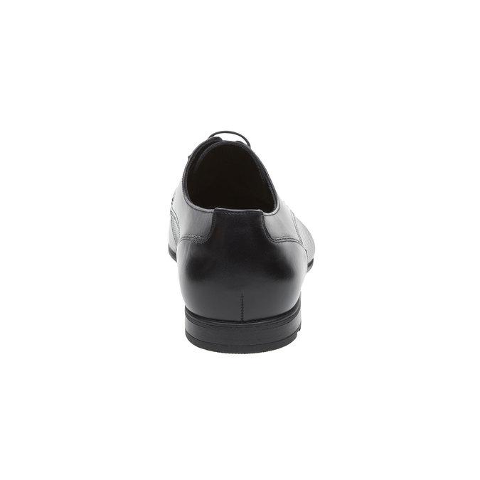 Pánské černé lakované polobotky lloyd, černá, 824-6346 - 17