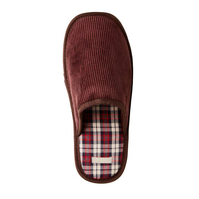 Pánská domácí obuv bata, 879-0166 - 17