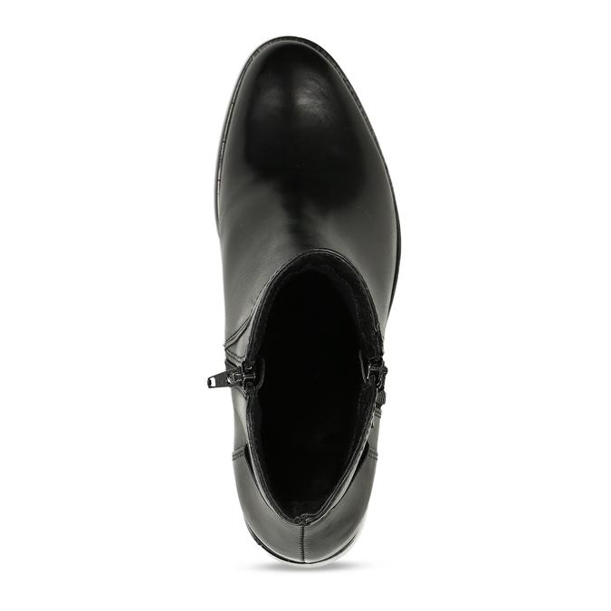 Dámská kotníčková obuv bata, černá, 694-6600 - 17