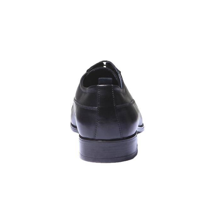 Kožené derby bata, černá, 824-6850 - 17