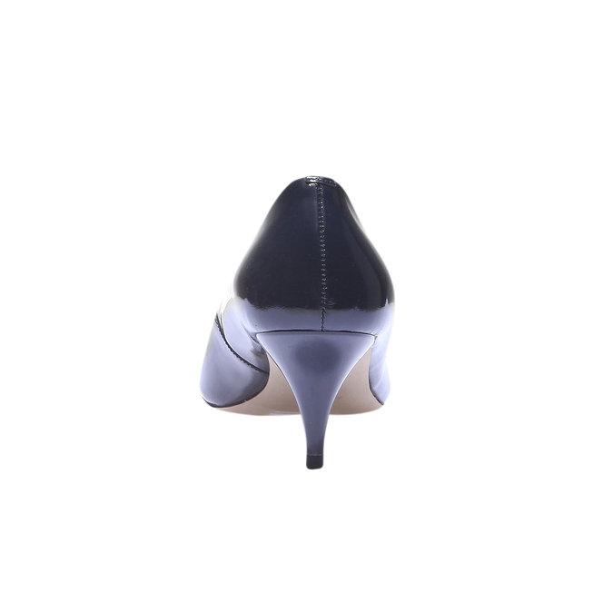 Lodičky s prodlouženou špičkou bata, modrá, 628-9100 - 17