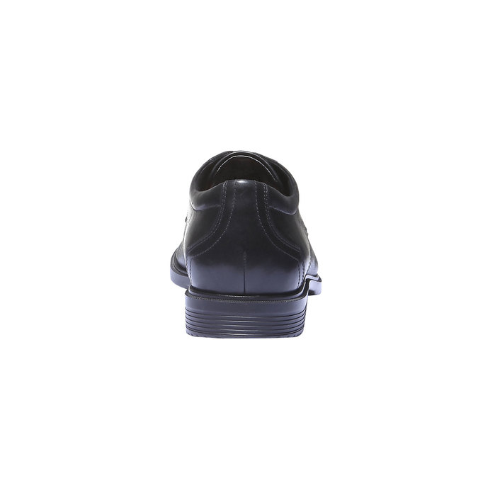 Kožené pánské polobotky rockport, černá, 824-6489 - 17