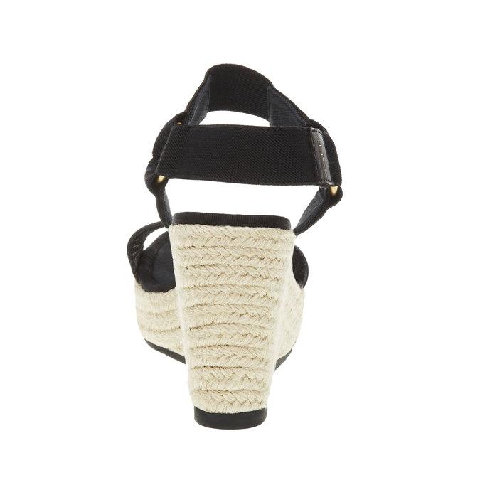 Dámské sandály na platformě gant, černá, 764-6014 - 17