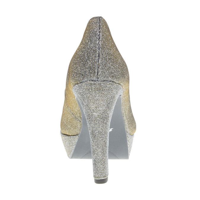 Lodičky na vysokém podpatku bata, stříbrná, 721-1101 - 17