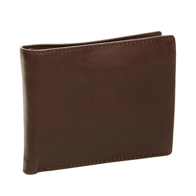 Pánská kožená peněženka bata, hnědá, 944-4124 - 13