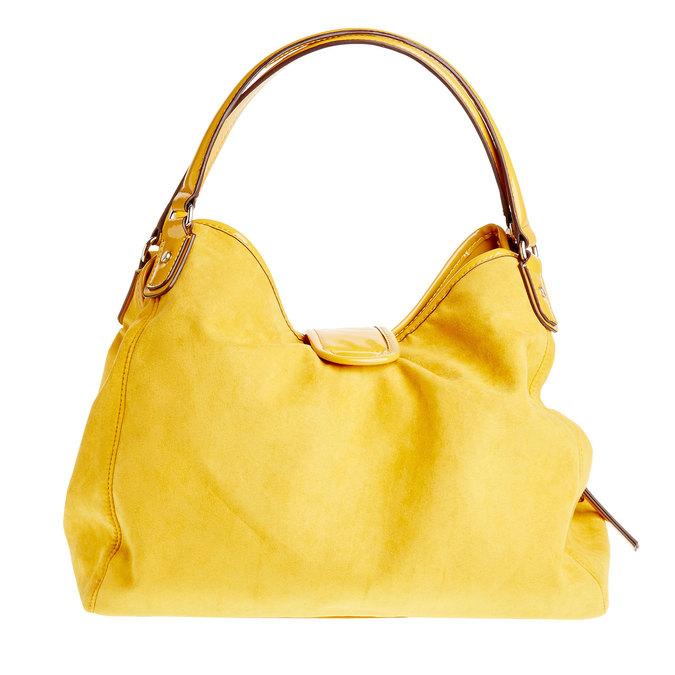 Žlutá dámská kabelka bata, žlutá, 969-8280 - 26