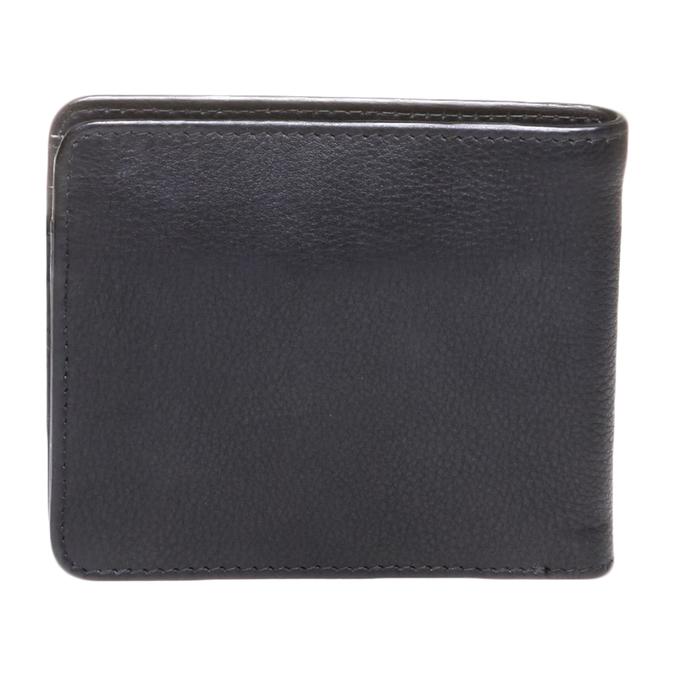Kožená pánská peněženka bata, černá, 944-6115 - 26