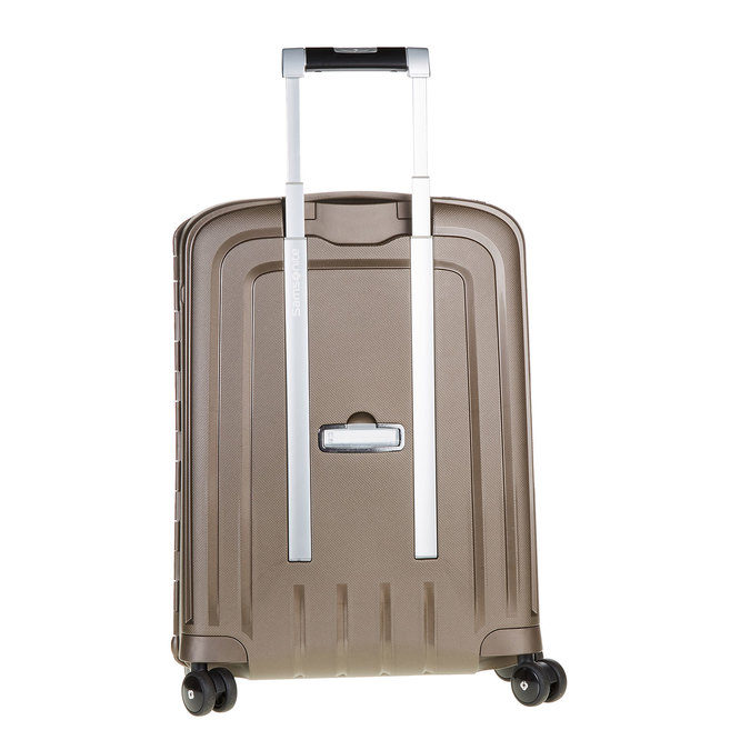 Kvalitní skořepinový kufr samsonite, hnědá, 960-4321 - 26