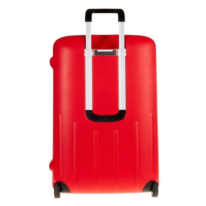 Skořepinový kufr na kolečkách samsonite, červená, 960-5324 - 26
