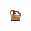 Kožené žabky na korkové podešvi birkenstock, hnědá, 564-3100 - 17