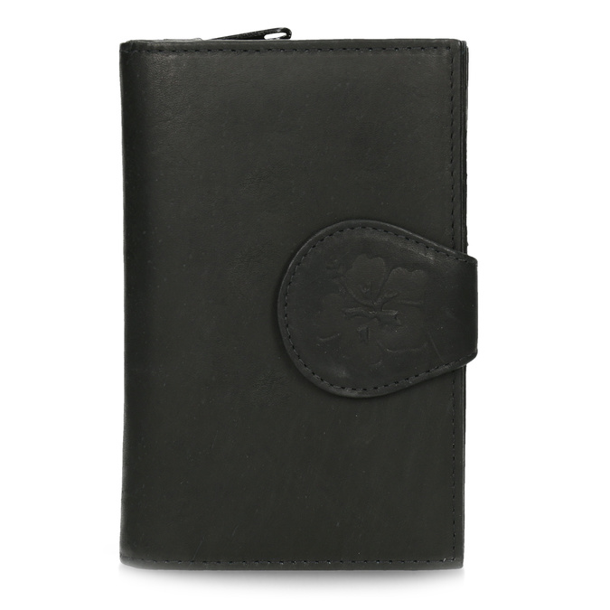 Dámská kožená peněženka bata, černá, 944-6155 - 26
