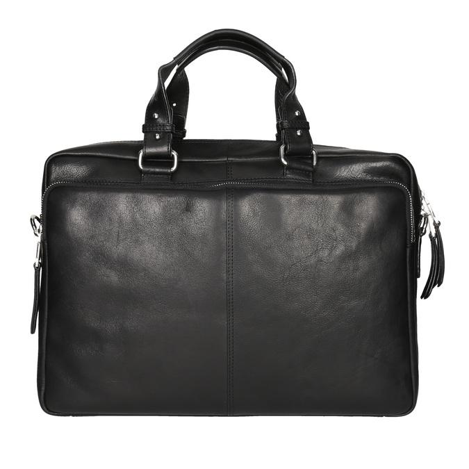 Kožená taška bata, černá, 964-6106 - 26