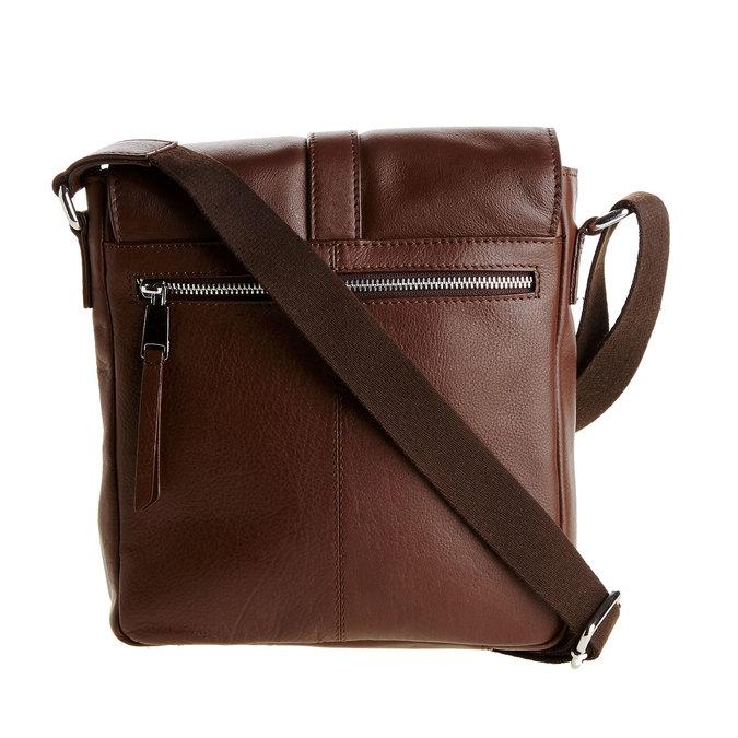 Pánská kožená taška přes tělo bata, hnědá, 964-4181 - 26