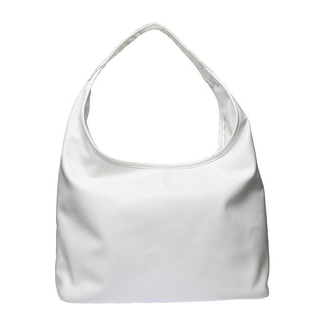 Hobo kabelka v pleteném designu bata, bílá, 961-1786 - 26